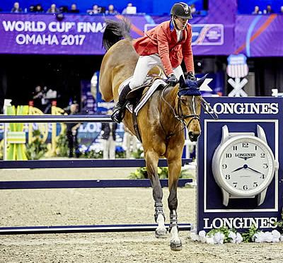 Ward Wins First Round of Longines Final by a Whisker