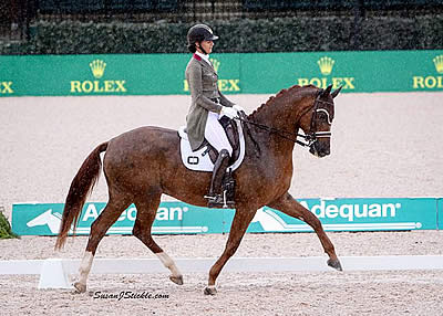 Heather Blitz and Praestemarkens Quatero Win Small Tour to Conclude Tryon Spring FEI CDI 3*