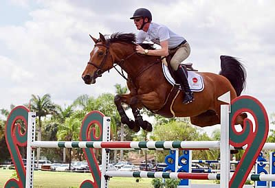 Daniel Coyle and Fortis Fortuna Victorious in 1.40m Turf Tour Grand Prix