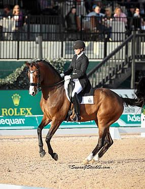 Ashley Holzer Captures FEI Grand Prix Freestyle CDI 3* aboard Havanna 145