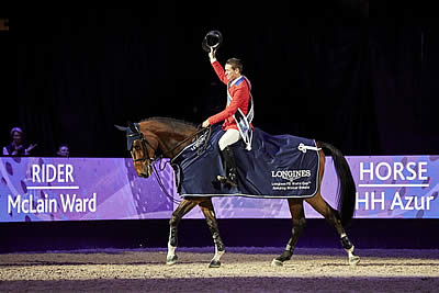 Newly Crowned FEI World Cup Champion McLain Ward Moves to World Number One