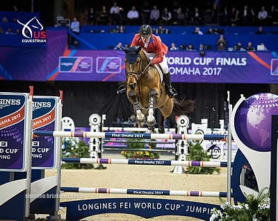 McLain Ward and HH Azur Deliver Five Flawless Rounds to Win FEI World Cup Jumping Final