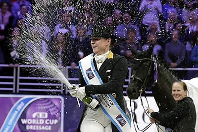 Wonderful Werth and Weihegold Take World Cup Dressage Title by Storm