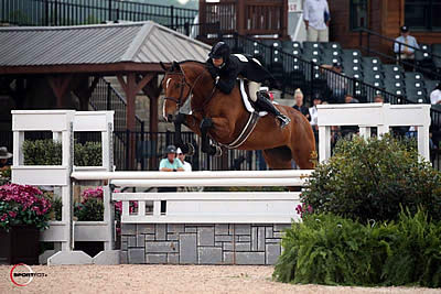Liza Boyd Goes Two for Two Taking USHJA Int'l Hunter Derby and USHJA Nat'l Hunter Derby