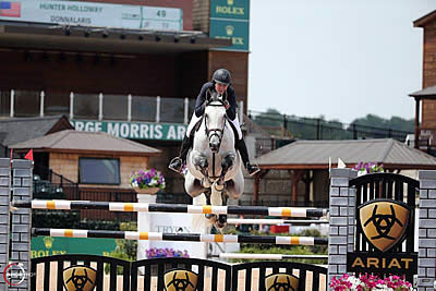 Hunter Holloway and Donnalaris Take Top Honors in $20k Hollow Creek Under 25 Jumper Classic
