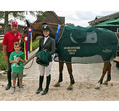 Team Minikus Scores Again with Wins at Tryon Summer II CSI4*