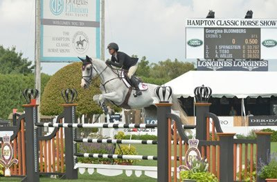 Georgina Bloomberg to Compete for Equestrian Aid Foundation at Hampton Classic Horse Show