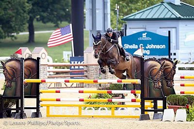 Christina Fisher and Hannah Patten Blaze to Blue Ribbons in Rolex Stadium