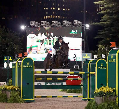 Hardin Towell and Lucifer V Win $40k US Open CSX FEI Speed Class at Central Park Horse Show