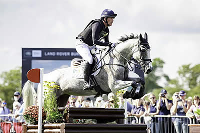 Oliver Townend and Ballaghmor Class Head a British Trio at Burghley after Cross Country