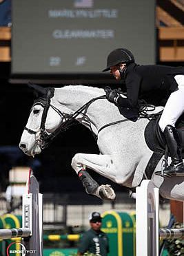 Marilyn Little and Clearwater Win $130k Suncast Commercial Welcome Stake CSI 5*