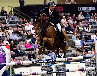 Denis Lynch and RMF Echo Take Top Class Longines Win in Lexington