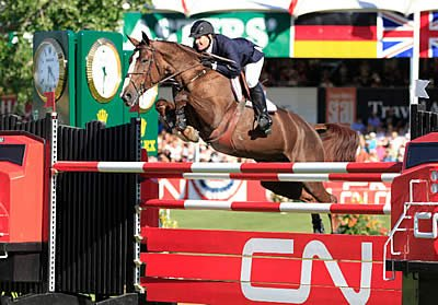 McLain Ward's Donation Extends Silver Oak Jumper Tournament's Support for Omega Horse Rescue