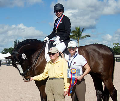 Dressage Really IS Like Brain Surgery for GK Elite Sport Adult Amateur Achievement Award Winner