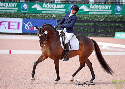 Team USA Riders Dominate at Second AGDF Para-Equestrian CPEDI3*