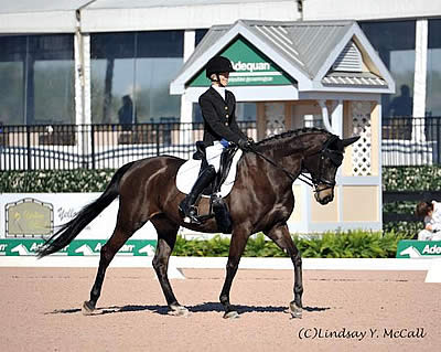 Deloitte US Para-Equestrian Dressage Team Earns Gold at the AGDF CPEDI3*