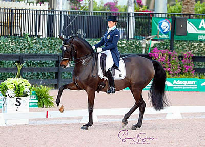 Victory for Tinne Vilhelmson Silfvén as Adequan Global Dressage Festival Kicks Off