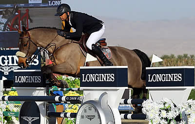Nassar and Lordan Shine Again with Second Longines Victory in Thermal
