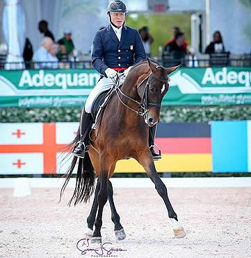 Jan Ebeling Is Knocking at the Door of Grand Prix with 'Awesome' Horse at AGDF
