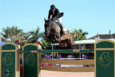 Eric Lamaze Captures WEF Challenge Cup Round 10 Win with Chesney