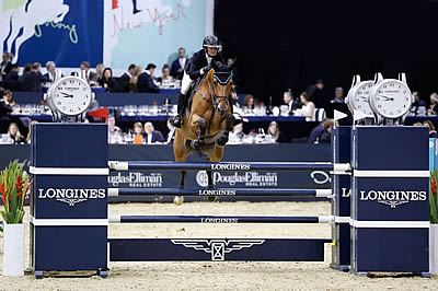 Fantastic Finish for Erynn Ballard in Longines Speed Challenge of New York 1.50m