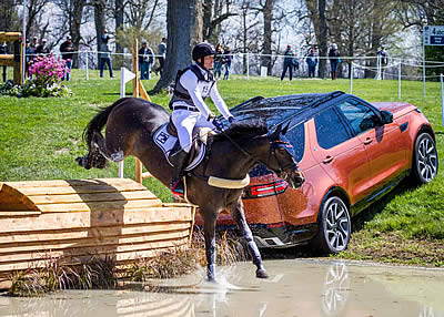 Jung Takes Back Lead on Cross-Country Day at Land Rover Kentucky Three-Day Event