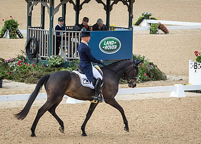 Michael Jung Leads Land Rover Kentucky Three-Day Event after Day One