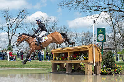 Oliver Townend Moves into Contention for Rolex Grand Slam of Eventing