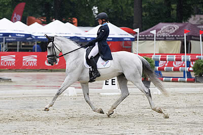 Strzegom Horse Trials: Sara Algotsson Ostholt Takes Lead after Dressage