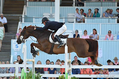 David Raposa Races to Top Honors in $35,000 Devon Speed Derby CSI4*