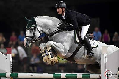 Moloney Climbs to Top in $70,000 Carolina Arena Equipment Grand Prix CSI 2*