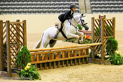 Tessa Downey Captures USEF Pony Medal Finals Championship