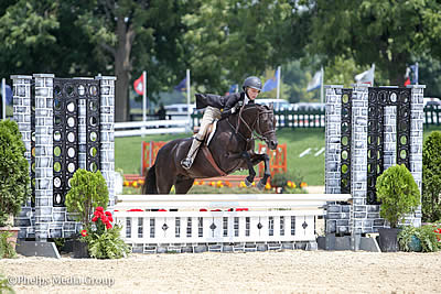 Tessa Downey and Kat Fuqua Steal the Show at USEF Pony Finals