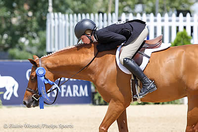 Kat Fuqua and Clara Propp Ride to Early Lead at 2018 USEF Pony Finals