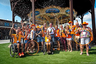 Orange the New Gold as Dutch Win Team Competition and Ticket to Tokyo 2020 Paralympics