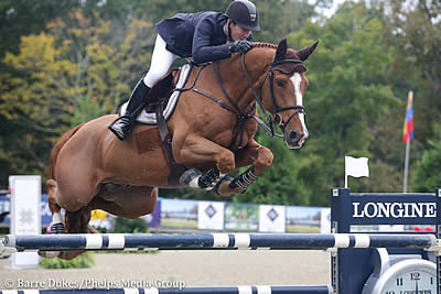 Gold Is Contagious for McLain Ward in $80,000 American Gold Cup Qualifier CSI4*-W