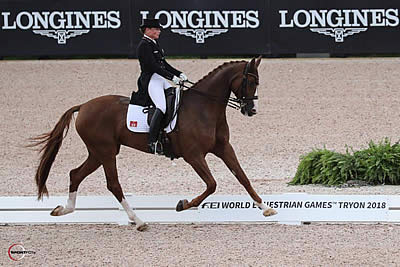 Second Time's a Charm for Isabell Werth in Helgstrand Dressage FEI Grand Prix Special
