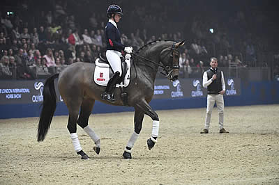 Charlotte Dujardin and 'Mrs Valegro' to Reveal New Freestyle Routine at Olympia