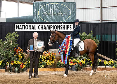 Angela Langen Honored with Sportsmanship Award at IALHA National Championship