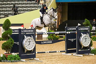 Beezie Madden and Chic Hin D Hyrencourt Win FEI Jumping World Cup Lexington CSI4*-W at NHS