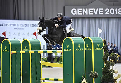 Steve Guerdat Riding Alamo Wins Rolex IJRC Top 10 Final at CHI Geneva
