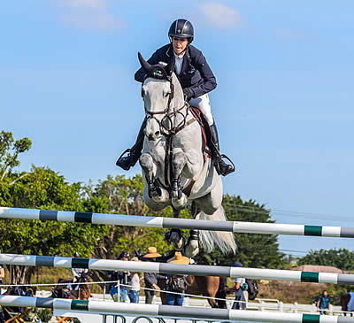 Laura Kraut and Confu Kick It Up to Secure Second Turf Tour Grand Prix Win