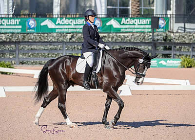 Roxanne Trunnell and Dolton Kick Off CPEDI 3* Competition with Win at AGDF