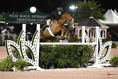 Victoria Colvin Wins $100k USHJA/WCHR Peter Wetherill Palm Beach Hunter Spectacular