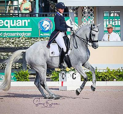 Adrienne Lyle and Harmony's Duval Break Tie in FEI Grand Prix Special CDI3*