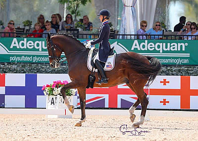 Laura Graves and Verdades Start Off AGDF Week 8 with Win in FEI Grand Prix CDI-W