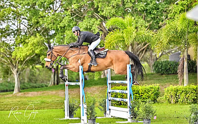 Jordan Out Jumps the Field in $15,000 1.40m Turf Tour Grand Prix