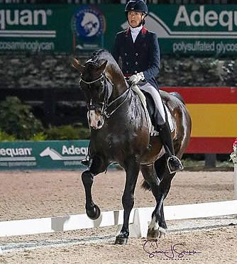 Charlotte Jorst Captures FEI Grand Prix Special CDI3* at AGDF