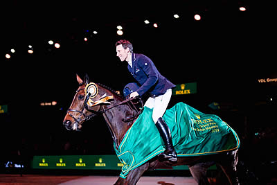 Henrik von Eckermann Becomes New Rolex Grand Slam Live Contender at Dutch Masters
