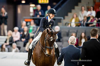 Graves Takes Second in FEI Dressage World Cup Final Grand Prix